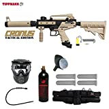 MAddog Tippmann Cronus Tactical Silver Paintball Gun Package -...