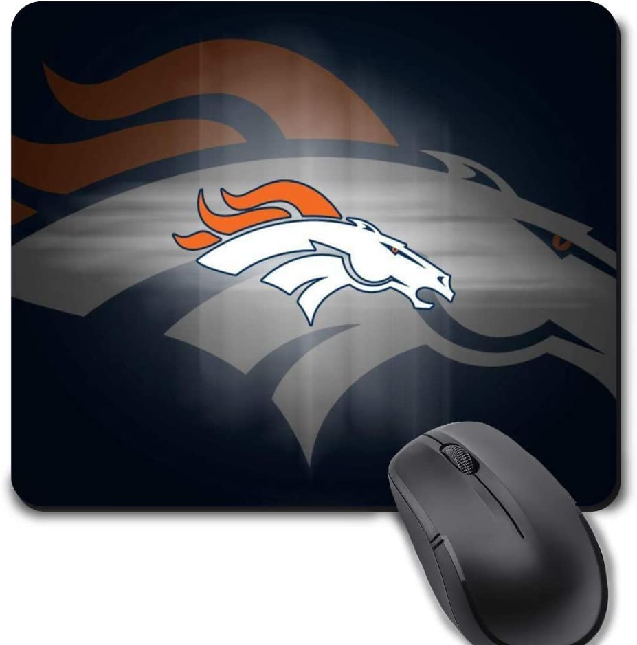 Gaming Mouse Pad,Life Needs Sport Mousepad with Non-Slip Rubber Base for Laptop Computer Desktop Mat - Denver Football Team