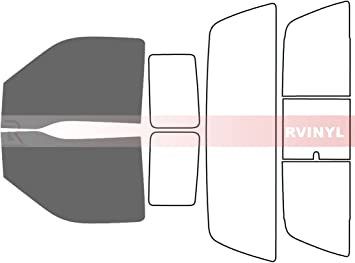 2 Door - Front Kit Rtint Window Tint Kit for Ford F-150 2004-2008 50/%