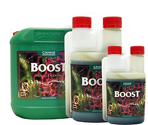 CANNA BOOST ACCELERATOR FLOWER ENHANCER STIMULATOR HYDROPONICS SOIL 250ml, 1 litre or 5 litre (250ml)