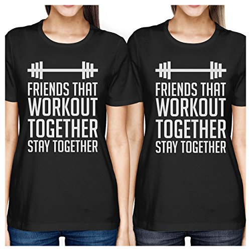 Camiseta de para talla corta mujer de 365 Printing manga zqCnw5On4U
