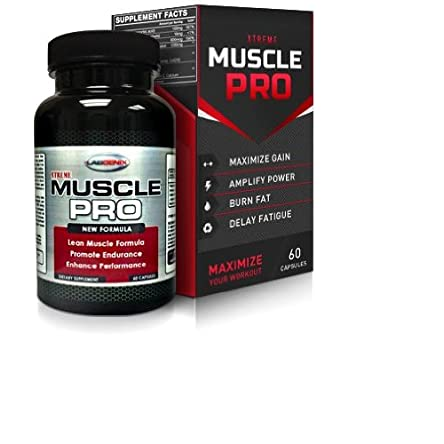 xTreme Muscle Pro: Extra Strength Lean Workout Supplement...