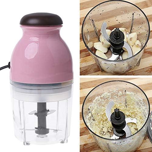 Mini Tritacarne Elettrico 300W Robot da Cucina Tritatutto per Frutta E Verdura Frullatore Elettrico Piccolo Robot da Cucina