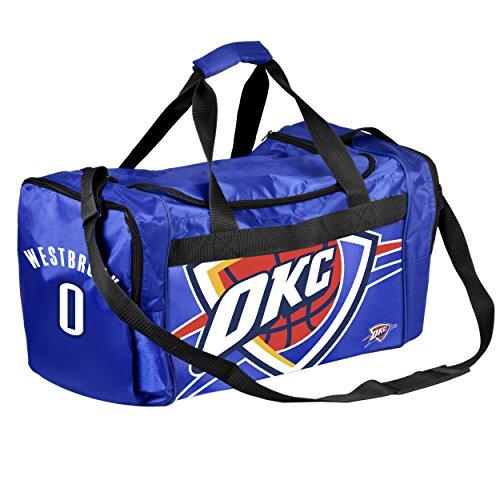 FOCO NBA Oklahoma City Thunder Russell Westbrook #0 Duffle Gym Bag