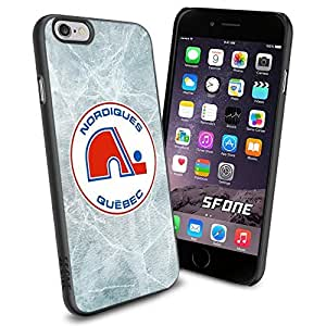 Quebec Nordiques Ice #1963 Hockey iPhone 6 (4.7) Case Protection Scratch Proof Soft Case Cover Protector by mcsharks