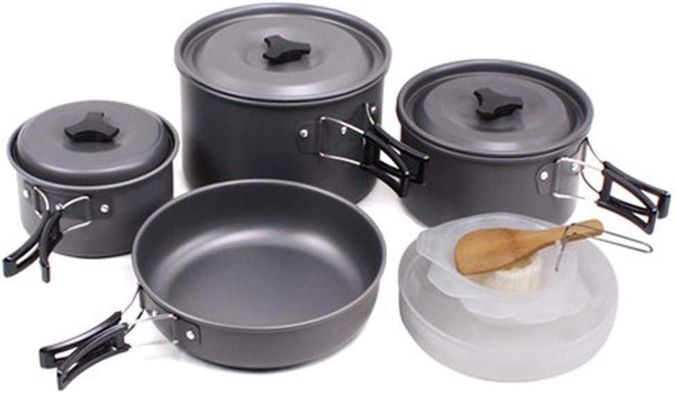 HAIK Utensilios de Cocina de Camping Kit de 4 a 5 Personas de ...