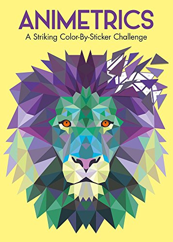Animetrics: A Striking Color-By-Sticker Challenge]()