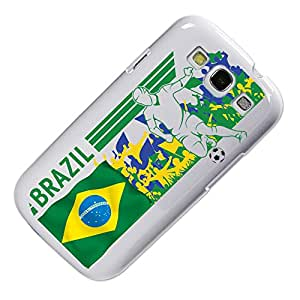 Brazil Soccer Field Designer Case for Samsung Galaxy S3 - White