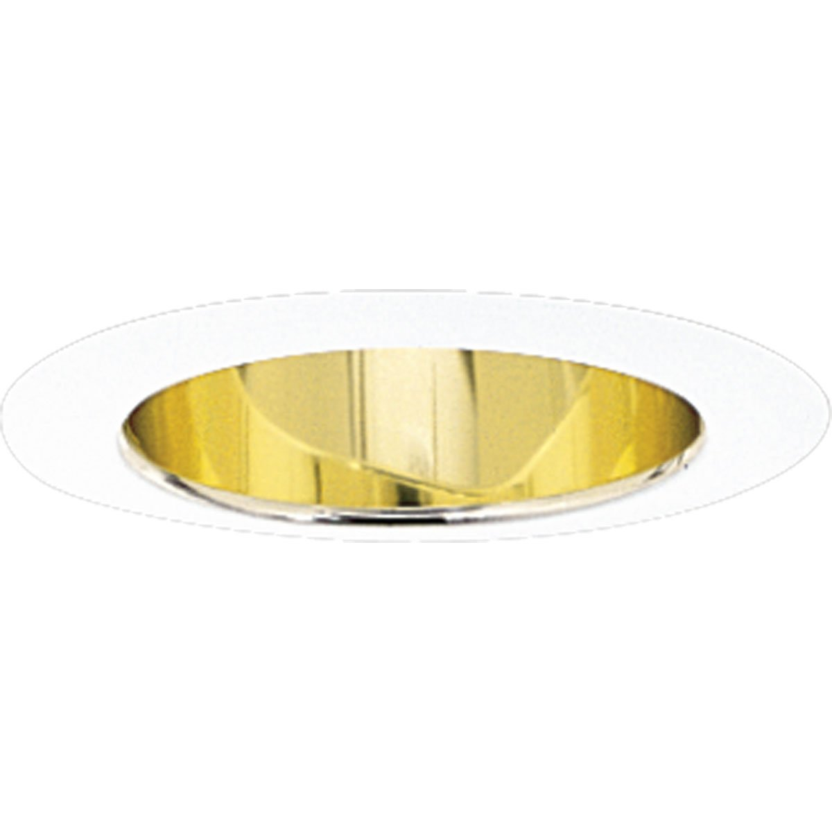 Progress Lighting P8172-22A Gold Alzak Finish 5-Inch Deep Cone, Gold Alzak