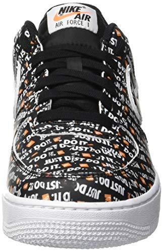 Zapatillas Force '07 Negro 1 para de White Orange JDI Total Hombre 001 Black Gimnasia Air Lv8 Black Nike qRnUxYw5