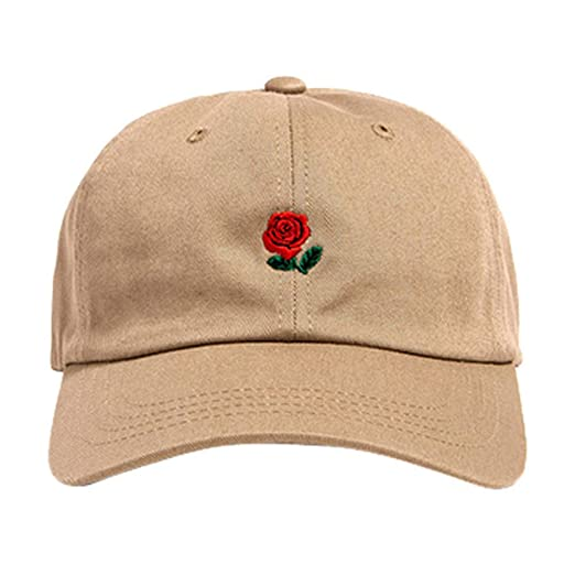 88464f9314a3f6 Amazon.com: 2019 DORIC Embroidery Cotton Baseball Cap Boys Girls Snapback  Hip Hop Flat Hat Solid Color Relaxed Adjustable: DORIC