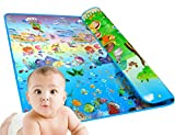WeSkate X3 Double-sided Foam Waterproof Baby Crawling Thickening Mat Drawing Review