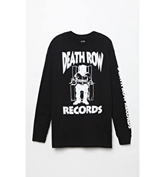 Pacsun Mens Death Row Records Long Sleeve T-Shirt at Amazon Men s ... e1bb11f86
