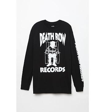 Pacsun Mens Death Row Records Long Sleeve T-Shirt at Amazon Men s ... e1bb11f86