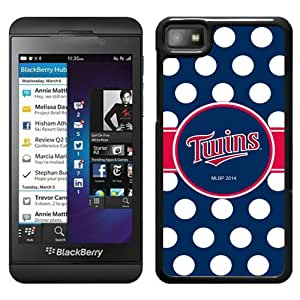 Minnesota Twins Black Cool Abstract Picture Case For Blackberry Z10 Phone Case