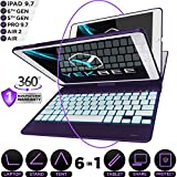 iPad Keyboard Case for iPad 2018 (6th Gen) - iPad 2017 (5th Gen)