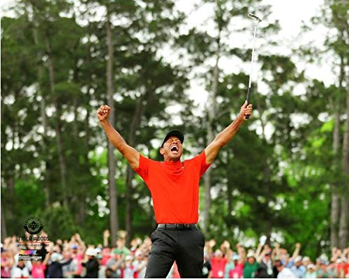 (Tiger Woods 2019 Masters Tournament Photo (Size: 8
