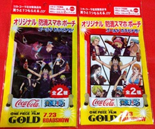 ワンピース×Coca-Cola コラボ限定 ノベルティ ワンピース スマホ ケース 2個セット