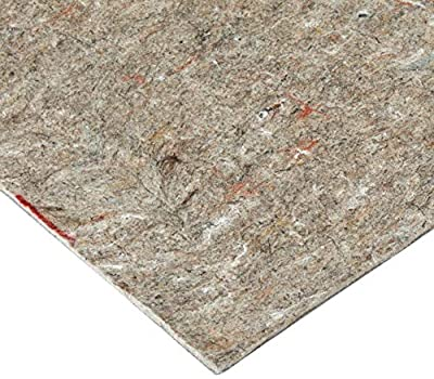 RUGPADUSA UB + Rubber Rug Pad Safe for Hardwood and All Surfaces