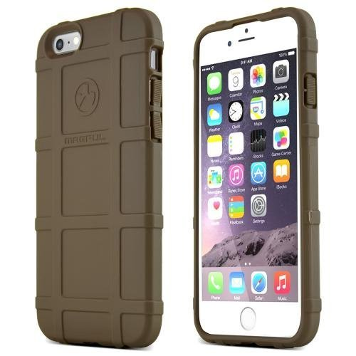 iPhone 6 [Magpul] Field Case [Flat Dark Earth] Best Selling Premium Quality Protective Strong TPU Case - Get ultimate Impact Resistant protection with this Highly Rated case by Magpul! [Perfect Fitting Apple iPhone 6 Case]