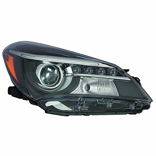 Fits Toyota Yaris Hatchback 15-17 Headlight Unit Projector W/LED DRL SE Model Passenger Side (NSF Certified)