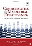 Communicating for Managerial Effectiveness 5th Edition