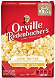 Orville Redenbacher's Light Butter Popcorn, Pop-Up Bowl Bag, 76.3g (Pack of 3)