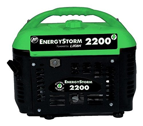 Lifan Energy Storm ES2200sc, 1800 Running Watts/2200 Starting Watts, Gas Powered Portable (Halloween Party Energy 2000)