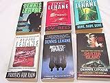 Dennis Lehane Set of 6 Books: Darkness Take My Hand, Sacred, Gone Baby Gone, Prayers for Rain Mystic River, Shutter Island