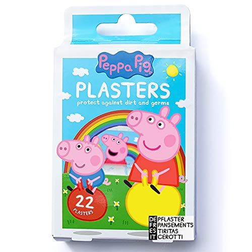 🥇 Peppa Pig Tiritas X22