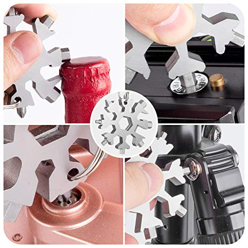 WETOLS 18-in-1 Multi-Tool, Upgraded Stainless Steel, Portable Sturdy and Comfortable, Toolkit for Screw Batch, Hexagonal Wrench, Bottle Opener etc. WE-181