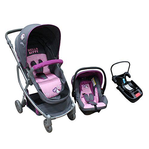 Hello Kitty , Carriola Travel System, Color Rosa