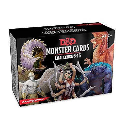 (Dungeons & Dragons Spellbook Cards: Monsters 6-16 (D&D Accessory) )