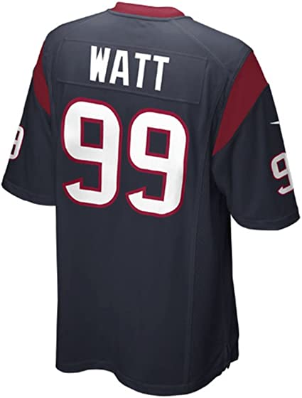J.J. Watt Houston Texans Navy Blue NFL Youth Nike Home Game Day Replica  Jersey: Clothi - Amazon.com