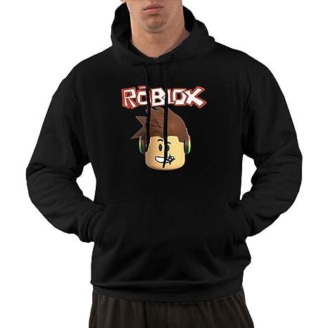 ROBLOX R Logo Men's Lone Sleeve Hoodies Sweatshirt Fashion