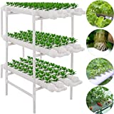 3 Layers 108 Plant Sites Hydroponic Site Grow Kit 12 Pipes Hydroponic Growing System /b> The hydroponic site grow kit is ideal water culture garden system, is designed for fast, maximum-convenience vegetable gardening. This hydroponic site grow kit h...