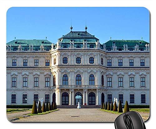 - Mouse Pads - Belvedere Castle Baroque Vienna Upper Belvedere