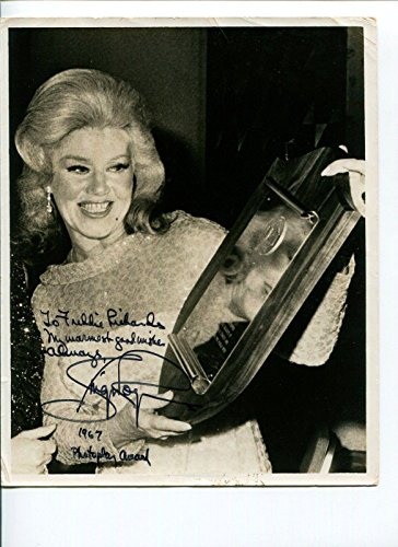 Ginger Rogers Top Hat Swing Time Oscar Winner Signed Autograph Press Photo