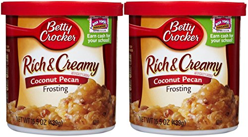 (Betty Crocker Rich & Creamy Frosting - Coconut Pecan - 14.5 oz - 2 pk )