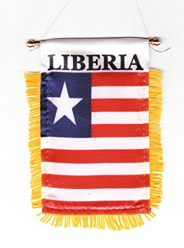 Liberia - Window Hanging Flags