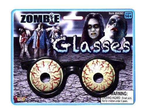 3d Glasses Costume - Zombie 3D Glasses Accessory