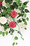 Floroom Artificial Flowers 25pcs Real Looking