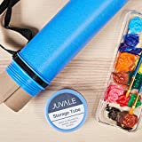 Plastic Storage Tube - Poster Tube with Strap, Documents Blueprints Artwork Portfolio Plastic Tube Expandable Carrying Case - Blue, 40.25 Inches in Length Fully Extended