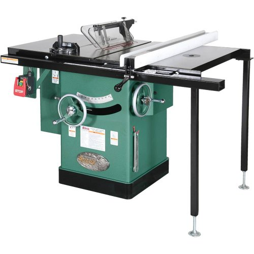 Cabinet Grizzly Saw (Grizzly G1023RLWX Cabinet Left-Tilting Table Saw, 10-Inch)