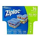 ziplock 2 cup - Ziploc Variety To Go Container