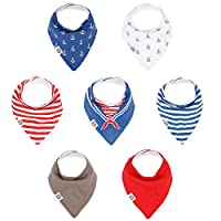 Mumby Baby Bandana Drool Bibs 'Sailor Set'