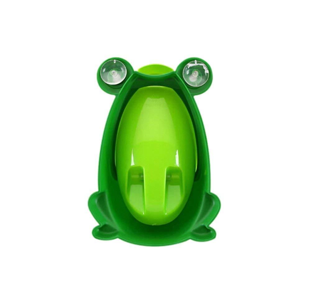 Goodplan Petits pots de b/éb/é de qualit/é sup/érieure Petits pots de pot pour enfants Forme de la cuvette de grenouille urinoir vert