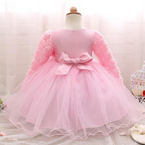 QUICKLYLY Vestidos Cortos Bautizo Beb/é Ni/ñas Princesa para Bodas Gasas Princesa Tutu Traje