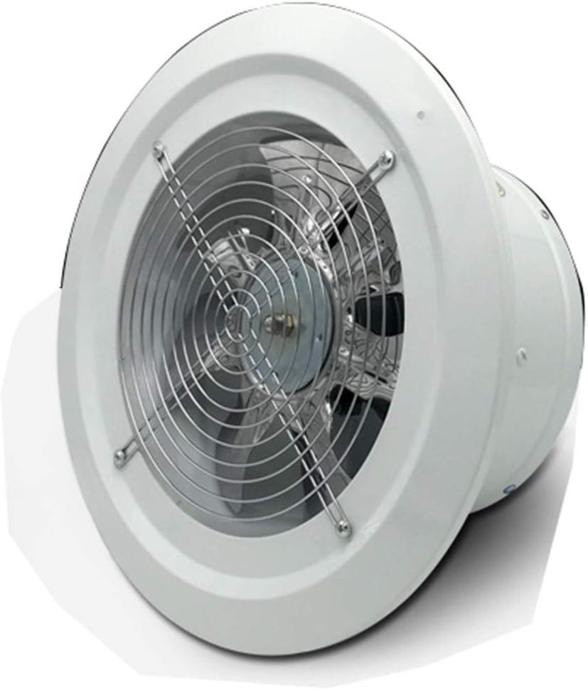 Knoijijuo Campana extractora de Metal Placa Redonda 2800 Encienda Ventilador de Alta Velocidad del Ventilador de Gran Alcance de la tubería de Escape del Ventilador Booster: Amazon.es: Hogar