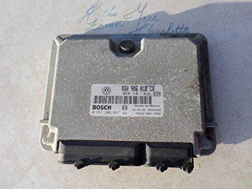 206 Control Unit (99 VW Beetle 2.0L ECM 06A 906 018 CQ Engine Control Unit ECU 0 261 206 087)